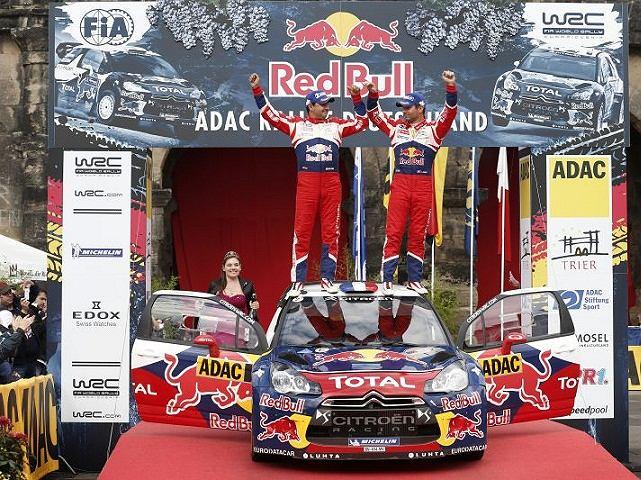 Sébastien Loeb i Daniel Elena wygrali na nadreńskich trasach po raz dziewiąty