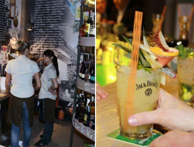 Świetne drinki serwuje Coctail Max Bar