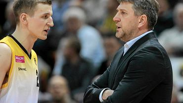 Adam Waczyński i Darius Maskoliunas