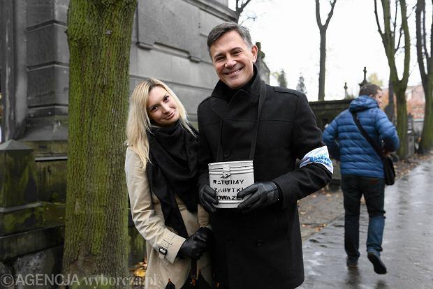 Wszystkich Świętych w Warszawie, kwesta na Powązkach