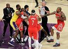 NBA. Ingram, Rondo i Paul zawieszeni po bójce podczas meczu Rockets - Lakers