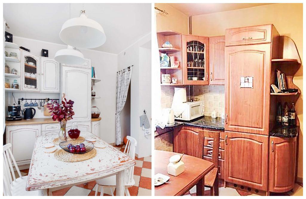 Metamorfoza kuchni - przed i po
