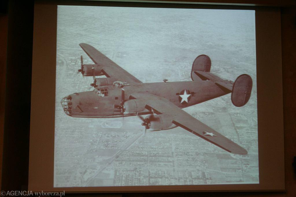 Zdjęcia archiwalne samolotu Liberator