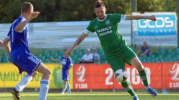 Warta Poznań - Górnik Wałbrzych 0:1. Michał Goliński
