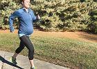 Sara biega w 35. tygodniu ciąży: Zdarzały się trudniejsze dni, ale najważniejsze, że osiągnęłam swój cel! [ZDJĘCIA]