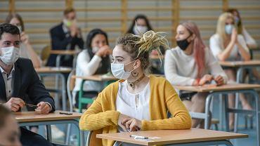 Egzaminy maturalne w 2020 roku.