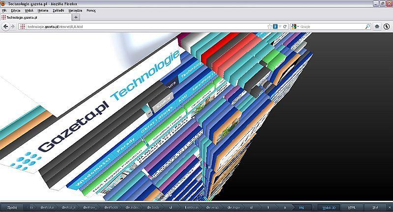 Technologie.gazeta.pl w 3D