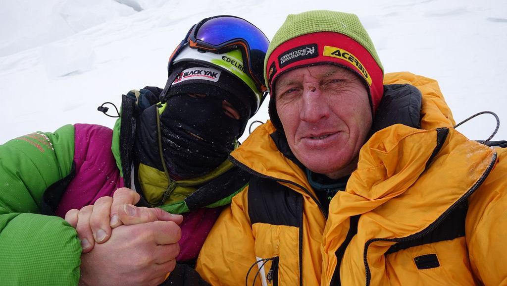 Denis Urubko i Adam Bielecki ma K2