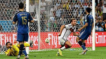 Niemcy - Argentyna 1:0 w finale mundialu 2014