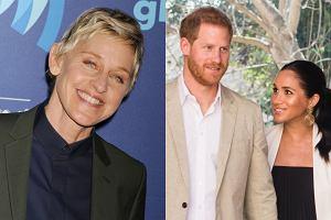 Ellen DeGeneres, książę Harry, Meghan Markle
