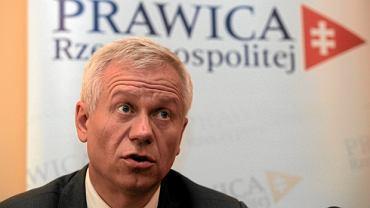 Marek Jurek, szef Prawicy Rzeczypospolitej