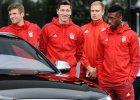 Robert Lewandowski odebrał nowe Audi