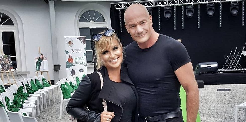 Katarzyna Skrzynecka i Piotr Zelt