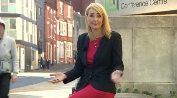 Dziennikarka BBC skonfundowana po seksistowskiej uwadze przechodnia