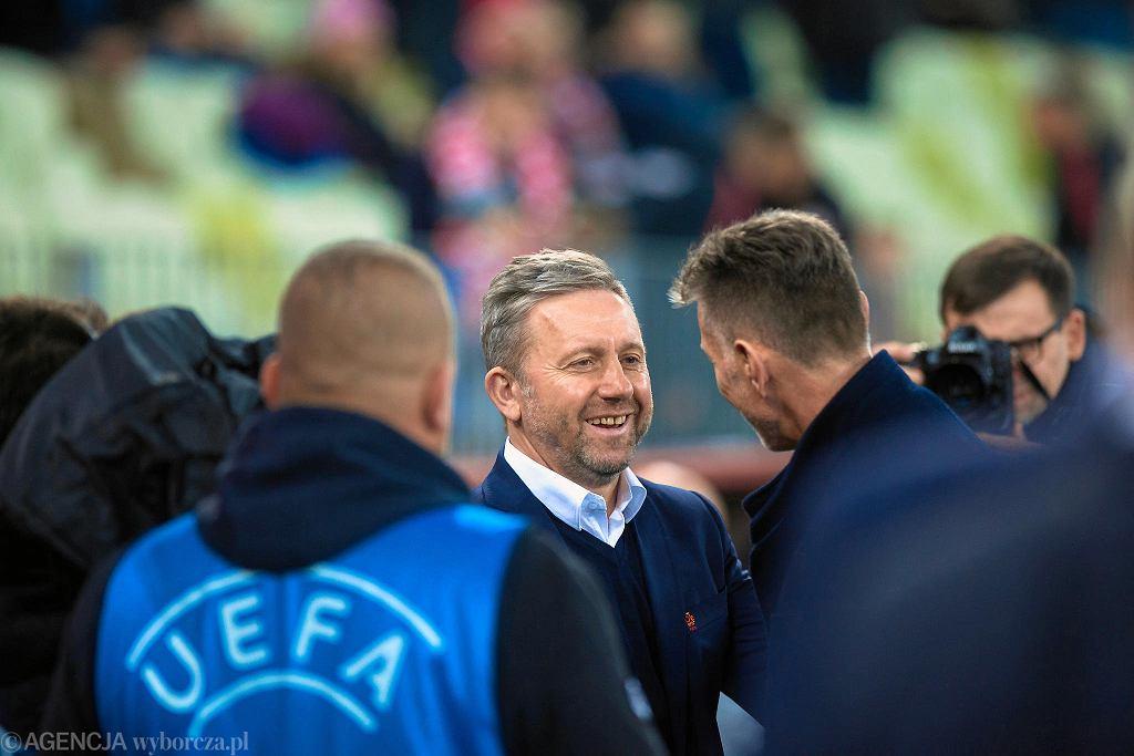 Polska - Czechy 0:1 na Stadionie Energa w Gdańsku. Jerzy Brzęczek