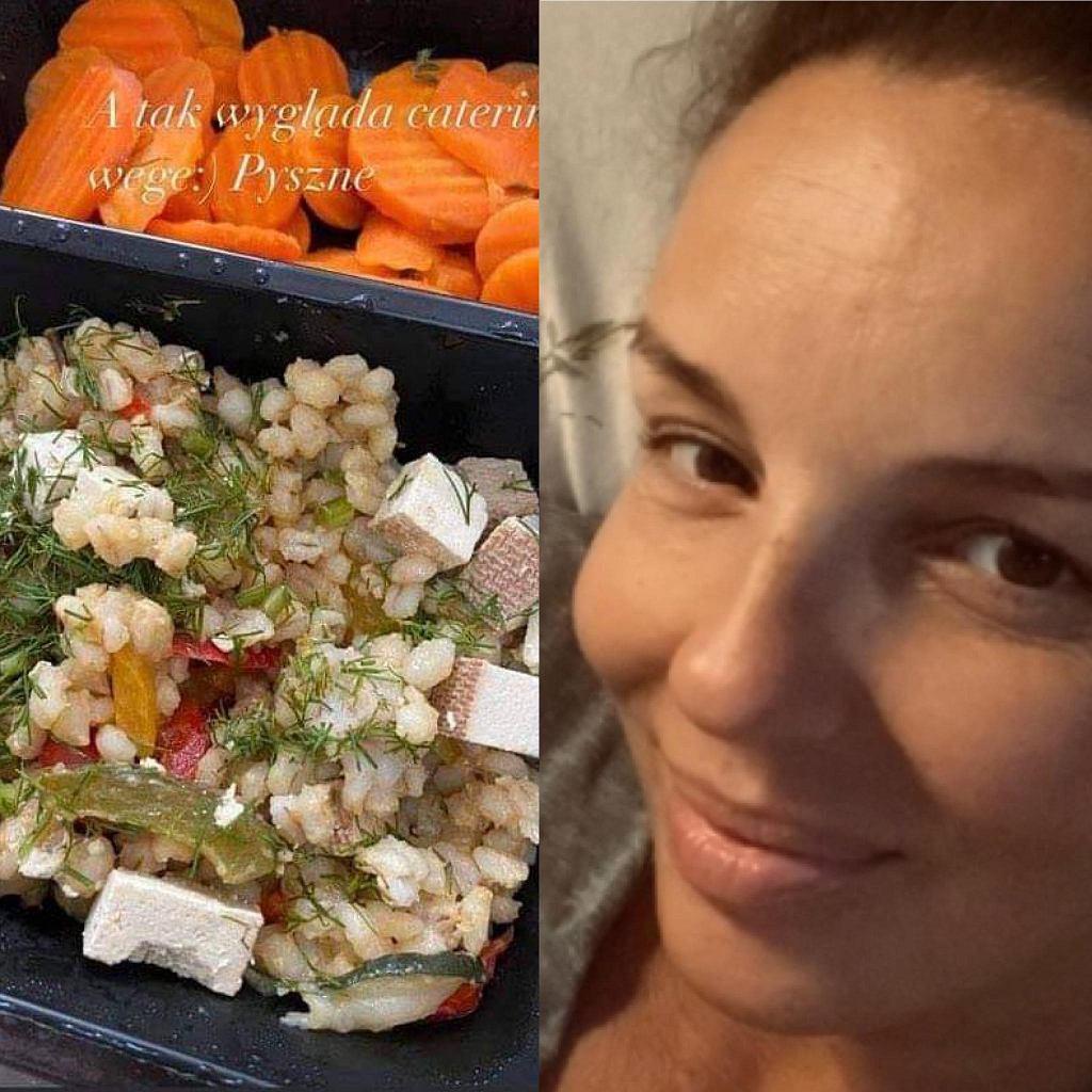 Agnieszka Włodarczyk pokazała szpitalny posiłek. Duże zaskoczenie. 'Czułam się jak w domu'
