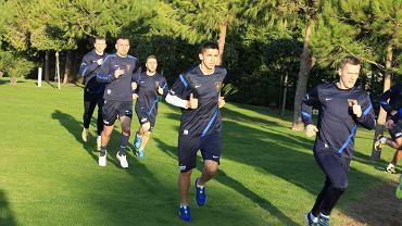Piłkarze Pogoni podczas treningów w Turcji przed rokiem