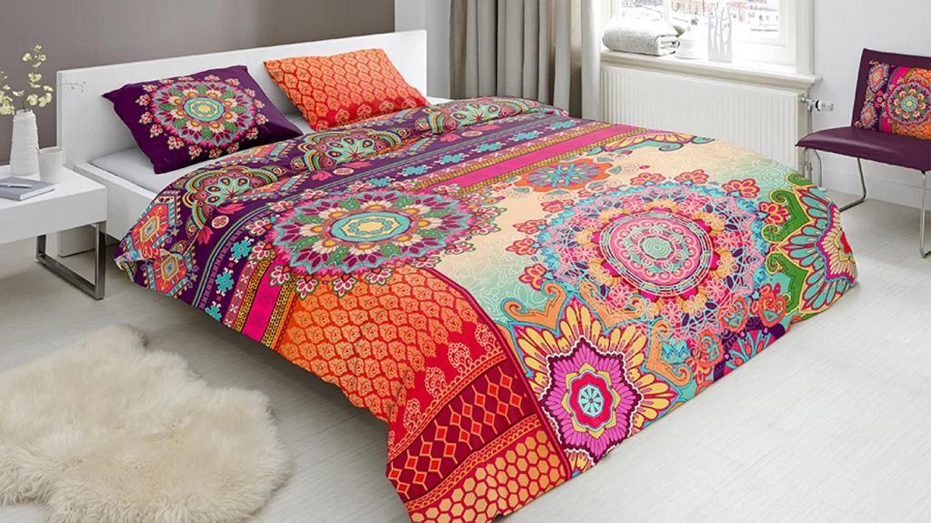 Sypialnia w stylu etno