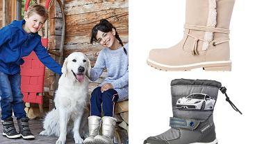 Promocja na buty dla dzieci w Lidlu