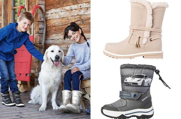 Lidl. Promocja na ciepłe buty dla dzieci. Botki i śniegowce za mniej niż 50 zł!