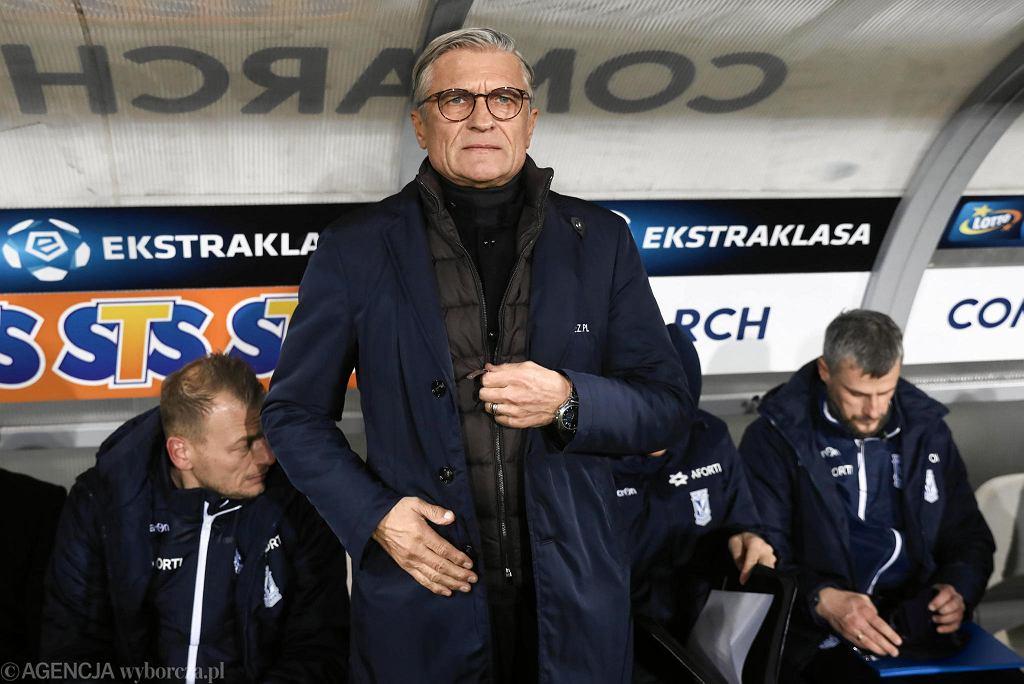 Adam Nawałka, trener Lecha