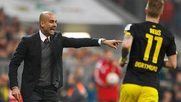 Pep Guardiola i Marco Reus