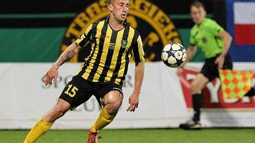 Janusz Gancarczyk od dwóch sezonów gra w pierwszoligowym GKS-ie Katowice