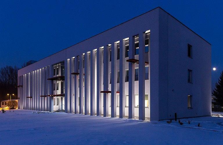 Przebudowa i rozbudowa budynku administracyjnego w Dąbrowie Górniczej