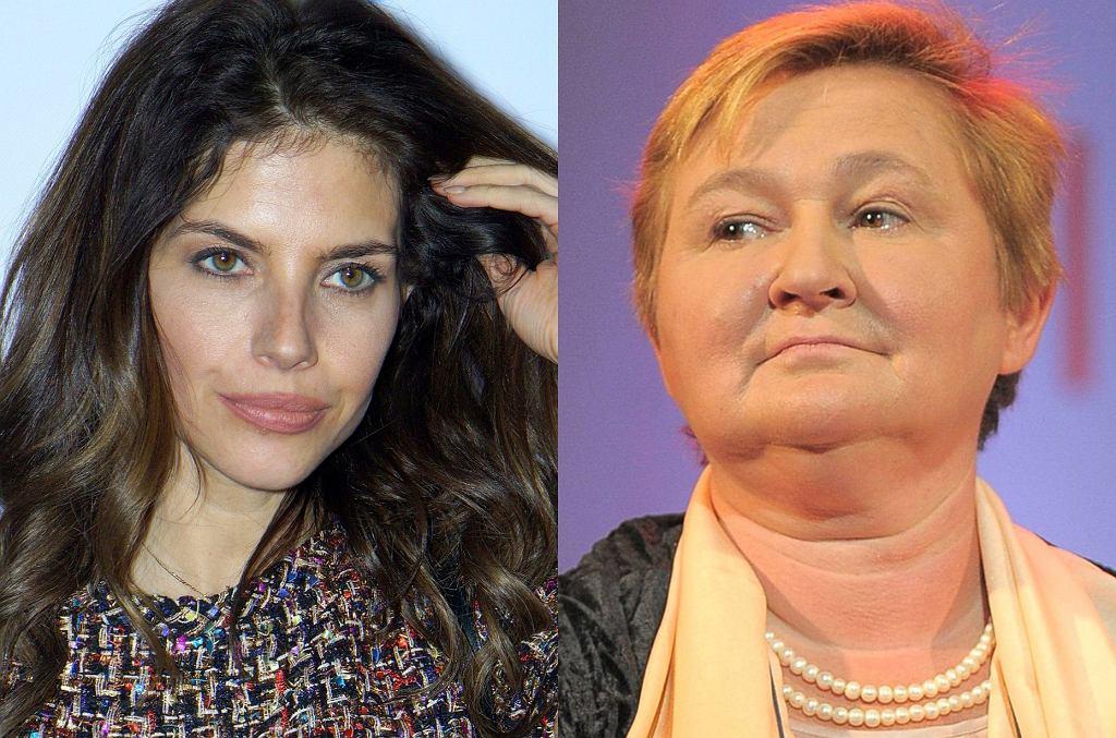 Weronika Rosati i Magdalena Środa