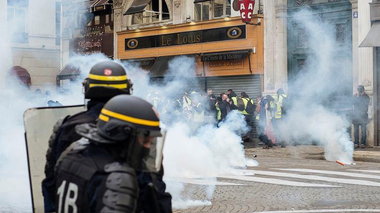 Protesty żółtych kamizelek 22 grudnia
