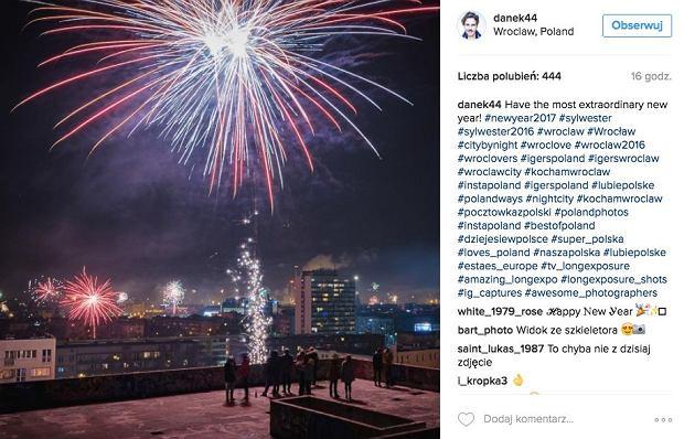 Zdjęcie numer 0 w galerii - Sylwester na Instagramie. Zobacz, jak wrocławianie spędzili ostatnią noc w roku