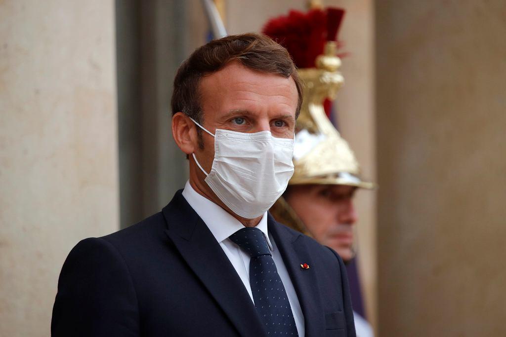 Emmanuel Macron, prezydent Francji.