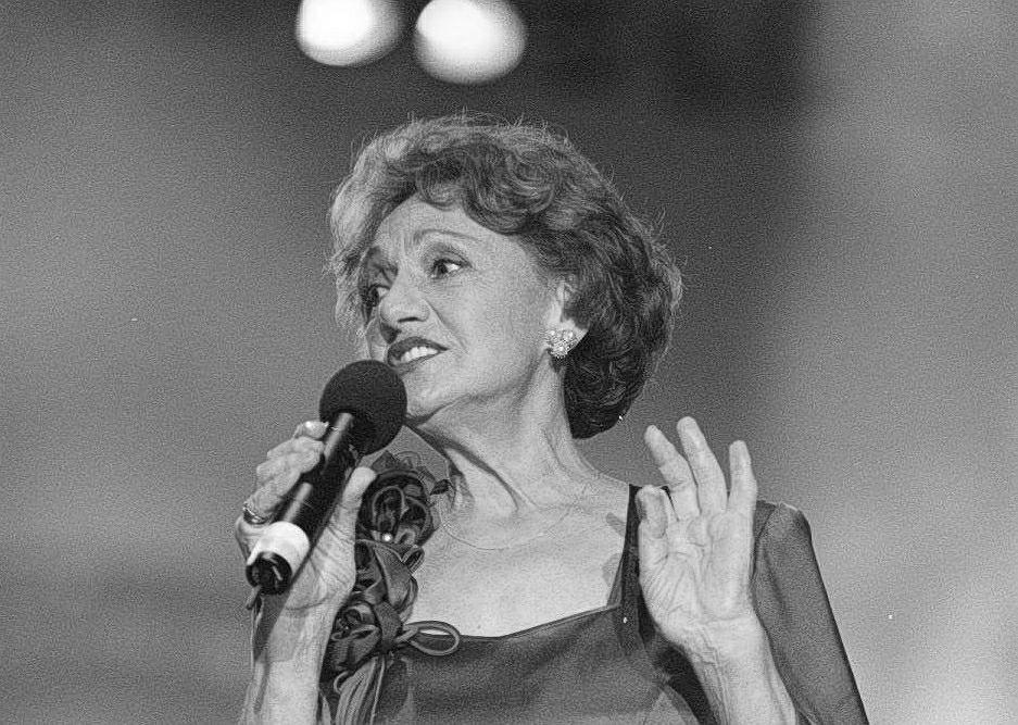 Irena Dziedzic w 1998 roku