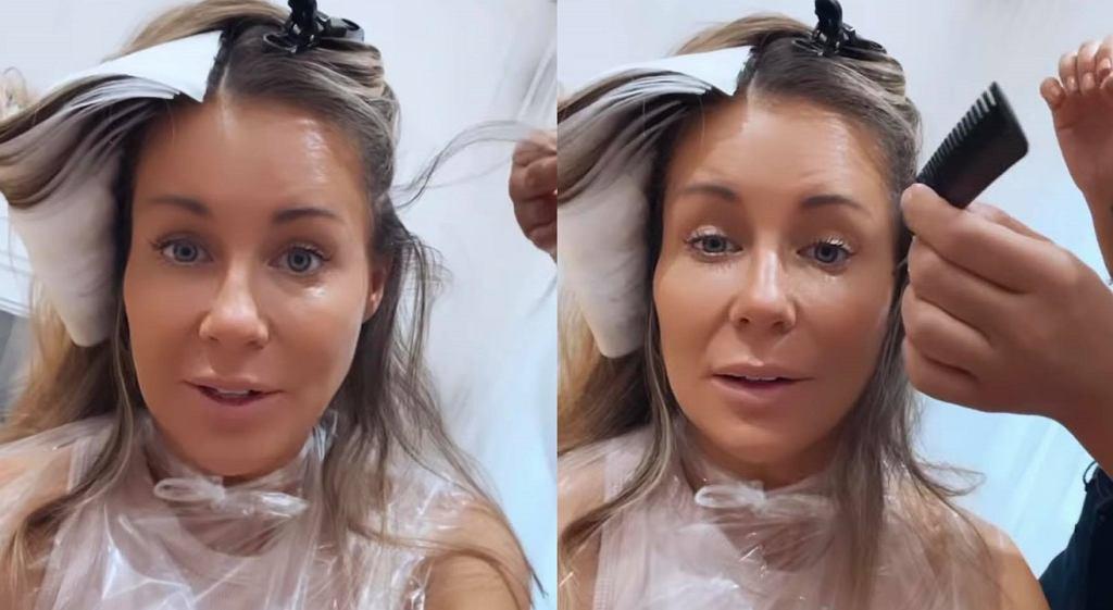 Małgorzata Rozenek-Majdan ma nowy kolor włosów. Użyła farby z drogerii. Jak wyszło? (zdjęcie ilustracyjne)