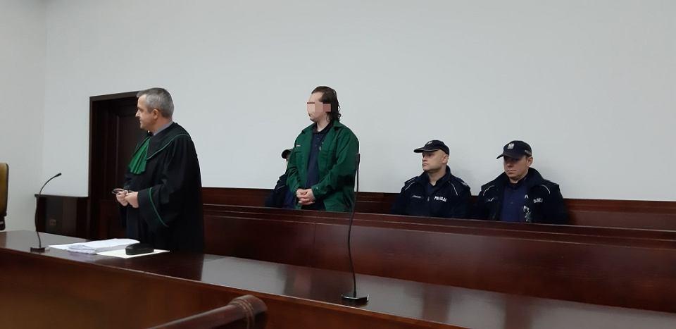 Kamil M. został skazany za to, że brutalnie zabił byłą dziewczynę zadając jej ponad sto ciosów nożem
