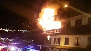 Ogień w hotelu pojawił się w nocy z soboty na niedzielę