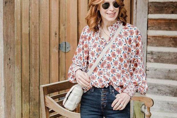 eleganckie bluzki z długim rękawem