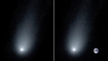 Kometa 2I/Borisov widziana przez spektrometr z obserwatorium Kecka na Hawajach