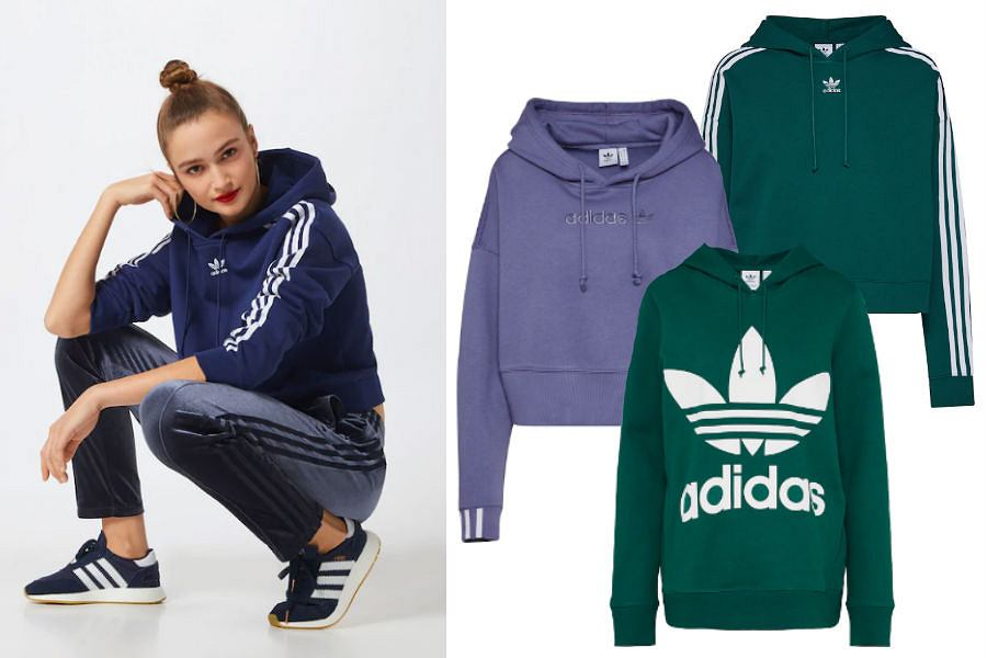 Kolaż / Bluzy Adidas Originals / Materiały partnerów