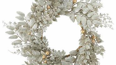 Świąteczny wianek, tworzywo sztuczne, śr. 18 cm, Marks & Spencer, 99 zł