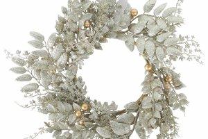 Wianki na drzwi. Świąteczne ozdoby i dekoracje na Boże Narodzenie