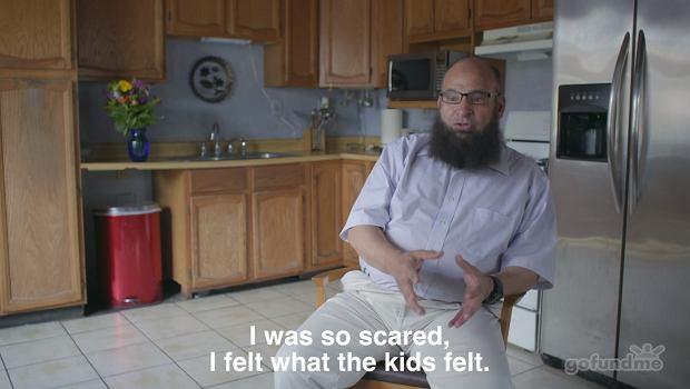 Kiedy żona zmarła, Mohamed czuł się opuszczony.