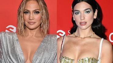 Jennifer Lopez i Dua Lipa na AMA 2020