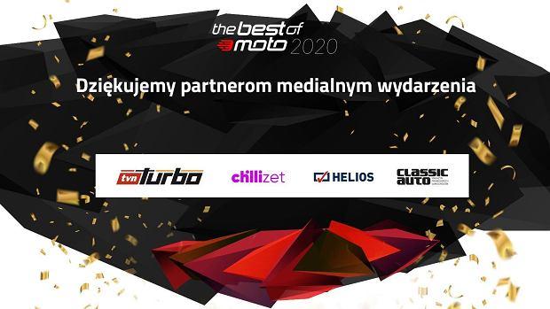 Podziękowanie dla partnerów The Best of Moto