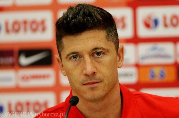 Mundial 2018. Dziennikarz spytał się Lewandowskiego o transfer, a wtedy...