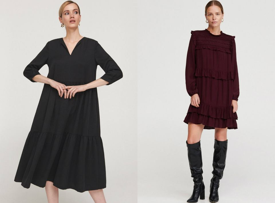 Sukienki o luźnym fasonie, które ukryją odstający brzuch