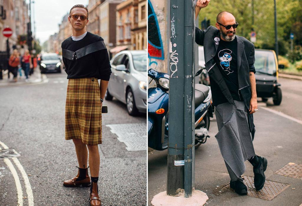 Mężczyźni w spódnicach