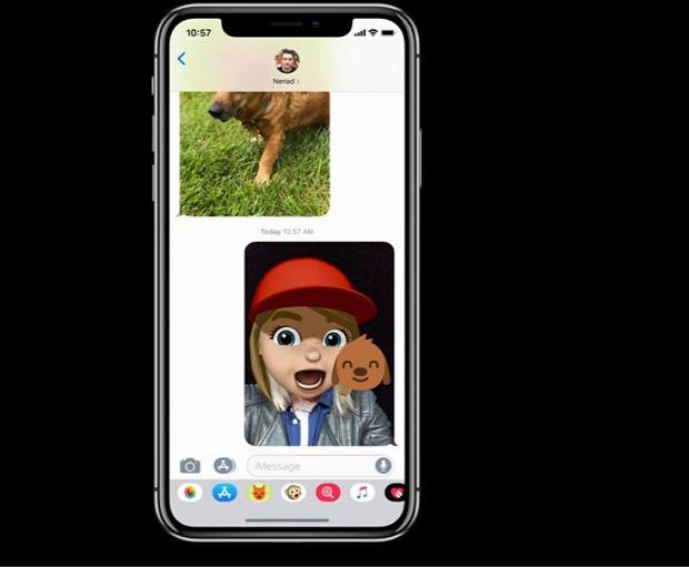 Wiadomości w iOS 12