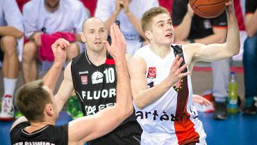 Koszykarze z Gliwic w akcji