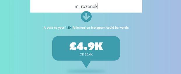 Ile Małgorzata Rozenek-Majdan może zarobić na Instagramie?